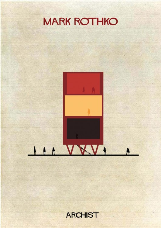 53176137c07a80688c00001b_archist-illustrations-of-famous-art-reimagined-as-architecture_07_mark-rothko-01-530x750